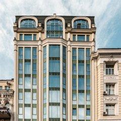 Дизайн-отель 11 Mirrors Киев вид на фасад