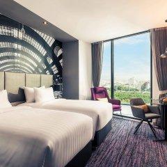 Отель Mercure Bangkok Makkasan комната для гостей