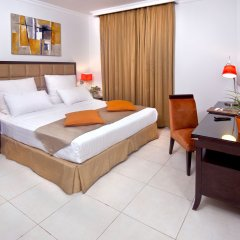 Corp Executive Hotel Doha Suites комната для гостей
