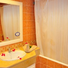 Отель Diar Yassine Тунис, Мидун - отзывы, цены и фото номеров - забронировать отель Diar Yassine онлайн ванная