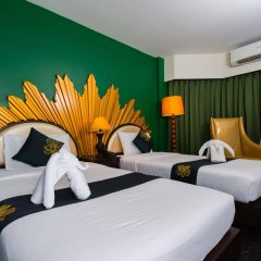 Отель Khaosan Palace Hotel Таиланд, Бангкок - 1 отзыв об отеле, цены и фото номеров - забронировать отель Khaosan Palace Hotel онлайн комната для гостей фото 4