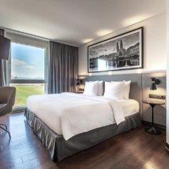 Отель Radisson Hotel Zurich Airport Швейцария, Рюмланг - 2 отзыва об отеле, цены и фото номеров - забронировать отель Radisson Hotel Zurich Airport онлайн комната для гостей фото 2