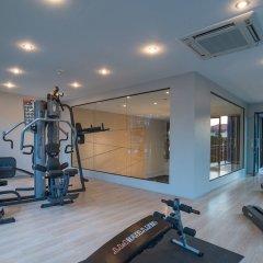Отель AVA Sea Resort фитнесс-зал фото 4