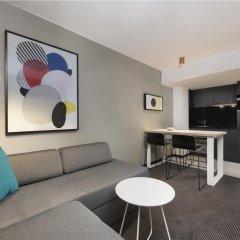 Отель Adina Apartment Hotel Leipzig Германия, Лейпциг - отзывы, цены и фото номеров - забронировать отель Adina Apartment Hotel Leipzig онлайн комната для гостей фото 4