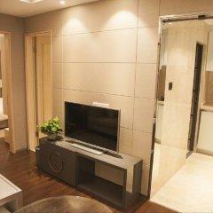 Отель Shenzhen U- Home Apartment Binhe Times Китай, Шэньчжэнь - отзывы, цены и фото номеров - забронировать отель Shenzhen U- Home Apartment Binhe Times онлайн комната для гостей фото 3