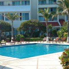 Апартаменты Apartment Solymar Cancun Beach бассейн