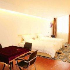 Отель Jinshang Time Hotel (Xi'an Jixiang Road branch) Китай, Сиань - отзывы, цены и фото номеров - забронировать отель Jinshang Time Hotel (Xi'an Jixiang Road branch) онлайн комната для гостей фото 2