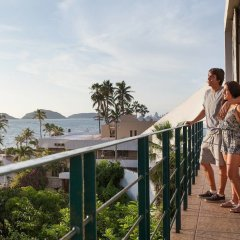 Отель Jacarandas-habitación Para 3 Personas en Mazatlán Масатлан пляж фото 2