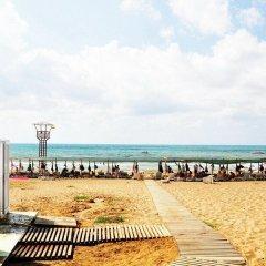 Отель Nergos Garden пляж