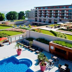 Отель Hilton Evian-les-Bains балкон