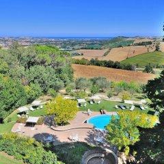 Отель Castello Di Monterado Италия, Монтерадо - отзывы, цены и фото номеров - забронировать отель Castello Di Monterado онлайн балкон