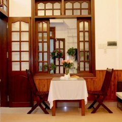 Отель Green Grass Homestay питание