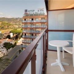 Отель H·TOP Calella Palace & SPA балкон