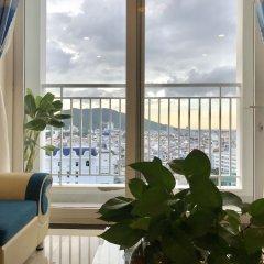 Отель Diamond Sea Apartment Вьетнам, Вунгтау - отзывы, цены и фото номеров - забронировать отель Diamond Sea Apartment онлайн балкон