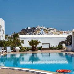 Отель Orizontes Hotel & Villas Греция, Остров Санторини - отзывы, цены и фото номеров - забронировать отель Orizontes Hotel & Villas онлайн бассейн фото 3