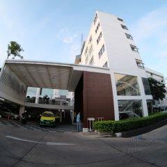 Trang Hotel Bangkok парковка