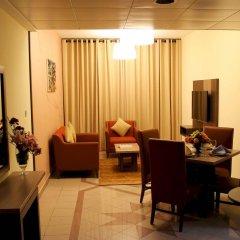 Отель Spark Residence Deluxe Hotel Apartments ОАЭ, Шарджа - отзывы, цены и фото номеров - забронировать отель Spark Residence Deluxe Hotel Apartments онлайн комната для гостей фото 4