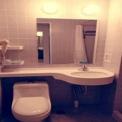 Отель Jinjiang Inn Shanghai Minhang Dongchuan Road ванная