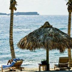 Hotel le Toiny пляж
