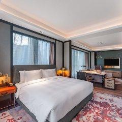 Отель Indigo Shanghai Hongqiao Китай, Шанхай - отзывы, цены и фото номеров - забронировать отель Indigo Shanghai Hongqiao онлайн комната для гостей фото 4