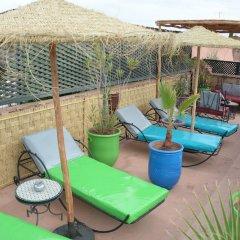 Отель Riad Assalam Марокко, Марракеш - отзывы, цены и фото номеров - забронировать отель Riad Assalam онлайн бассейн фото 2