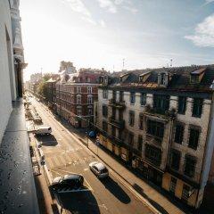 Q Hotel Plus Katowice балкон