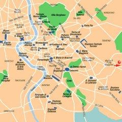 Отель Holiday Inn Express Rome - East городской автобус