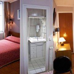 Отель Hippodrome Франция, Париж - отзывы, цены и фото номеров - забронировать отель Hippodrome онлайн ванная