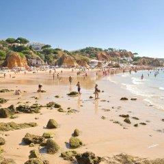 Отель Apartamentos Do Parque Португалия, Албуфейра - отзывы, цены и фото номеров - забронировать отель Apartamentos Do Parque онлайн пляж фото 2