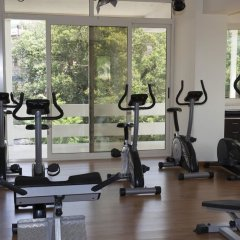 Mondial Park Hotel Фьюджи фитнесс-зал фото 2