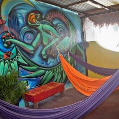 Отель Tres Mundos Hostel Мексика, Плая-дель-Кармен - отзывы, цены и фото номеров - забронировать отель Tres Mundos Hostel онлайн интерьер отеля фото 3