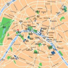 Отель Garden Elysee Париж городской автобус