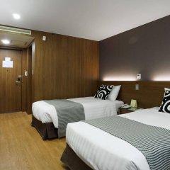 Отель Itaewon Crown hotel Южная Корея, Сеул - отзывы, цены и фото номеров - забронировать отель Itaewon Crown hotel онлайн комната для гостей фото 3
