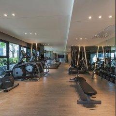 Отель Pattaya Central Sea View Pool Suite Паттайя фитнесс-зал фото 2