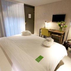 Hotel De Hallen 4* Номер Делюкс с различными типами кроватей фото 2