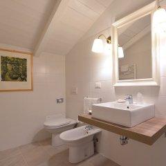 Отель Al Cappello Rosso Suite Apartments Италия, Болонья - отзывы, цены и фото номеров - забронировать отель Al Cappello Rosso Suite Apartments онлайн ванная