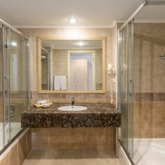 Paloma Grida Resort & Spa Турция, Белек - 8 отзывов об отеле, цены и фото номеров - забронировать отель Paloma Grida Resort & Spa - All Inclusive онлайн ванная фото 2
