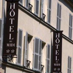 Отель Hôtel Du Midi Gare de Lyon Франция, Париж - отзывы, цены и фото номеров - забронировать отель Hôtel Du Midi Gare de Lyon онлайн балкон