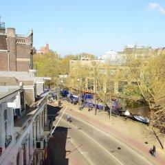 Отель Leonardo Boutique Museumhotel Нидерланды, Амстердам - отзывы, цены и фото номеров - забронировать отель Leonardo Boutique Museumhotel онлайн балкон