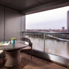 Отель Park Plaza Riverbank London Великобритания, Лондон - 4 отзыва об отеле, цены и фото номеров - забронировать отель Park Plaza Riverbank London онлайн балкон