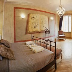 Апартаменты Goodnight Warsaw Apartments Wilcza 26a комната для гостей