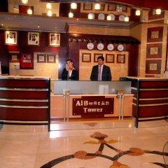 Отель Al Bustan Tower Hotel Suites ОАЭ, Шарджа - отзывы, цены и фото номеров - забронировать отель Al Bustan Tower Hotel Suites онлайн интерьер отеля фото 2