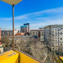 Апартаменты Apartment on Peschanaya 6 Москва балкон