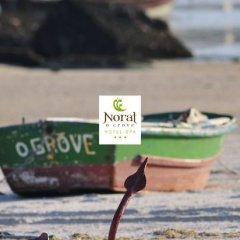 Отель Spa Norat O Grove Эль-Грове приотельная территория