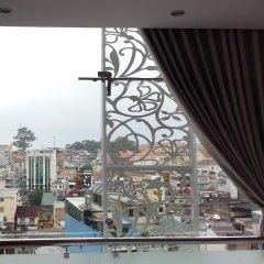 Pansy Hotel Далат балкон