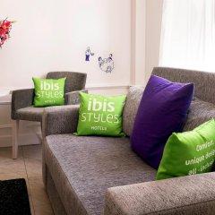Отель Ibis Styles Odenplan Стокгольм комната для гостей фото 3