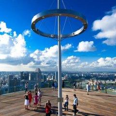 Отель Marina Bay Sands спортивное сооружение