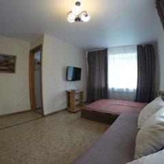 Гостиница Эдем Взлетка комната для гостей фото 5