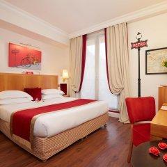 Отель Hôtel Waldorf Trocadéro комната для гостей фото 3