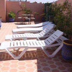 Отель Riad Porte Des 5 Jardins Марокко, Марракеш - отзывы, цены и фото номеров - забронировать отель Riad Porte Des 5 Jardins онлайн бассейн
